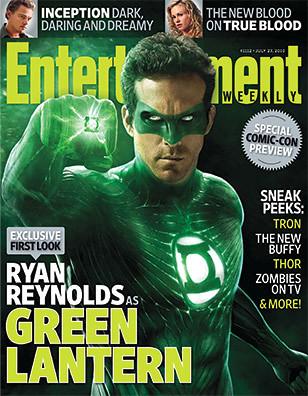 Thumb Foto de Ryan Reynolds y su traje de Linterna Verde computarizado