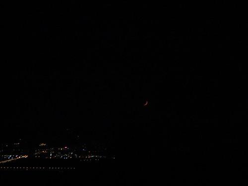 20100715 陽明山夜景_月亮