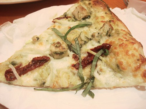 CPK pesto chicken pizza 1