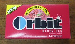 Orbit Berry Red