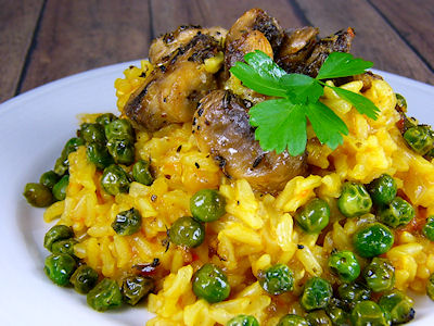 E.A.T World: Cuba - Arroz Con Mushrooms