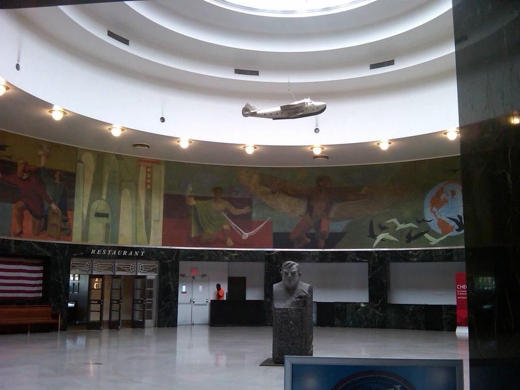 Marine Air Terminal Interior