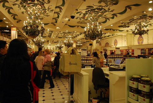 Travel By Photos The Harrods And Its Food Hall
