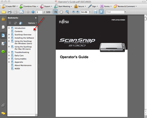 Where to find help for ScanSnap 6