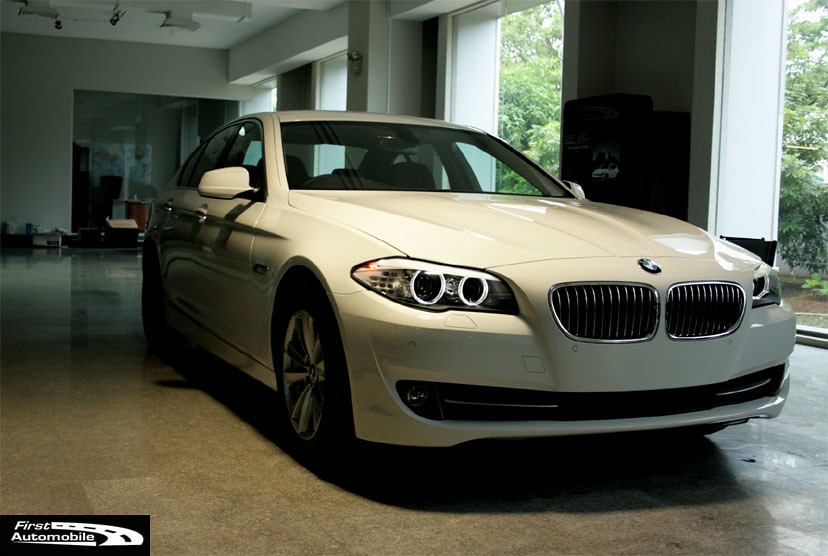 White BMW 523i F10 - BMW-SG - The BMW Singapore Community