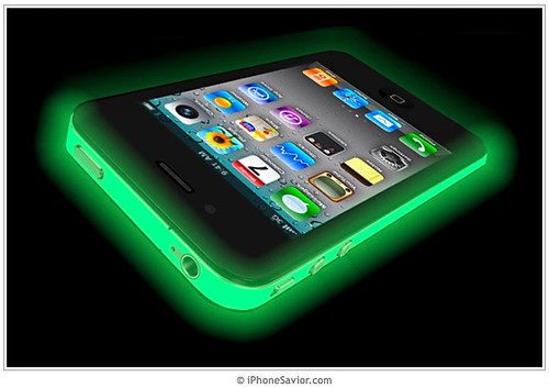iPhone 4: Glow In the Dark iColor Wrap