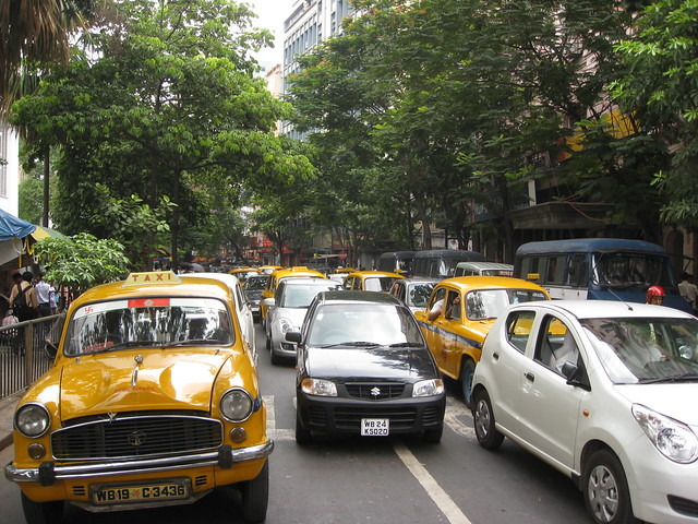 Traffic Congestion - Kolkata Roads