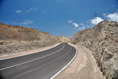 Carretera en la piedra