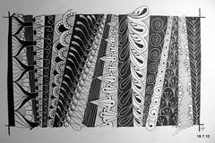 Field Of Opportunity (Jo in NZ) Tags: pen ink drawing line doodle zentangle nzjo zendoodle
