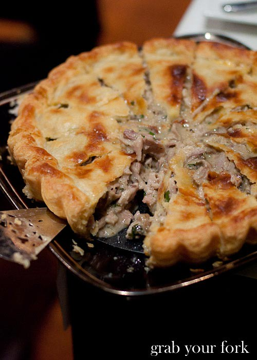 maggie beer's country chicken and mushroom pie