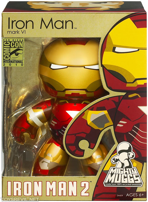 Sdcc Special Edition Mighty Muggs Iron Man 2 Amp Autobot