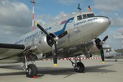 668Hamburg150907SASDC3b (Proplinerman) Tags: classic aircraft douglas dc3 airliner propliner pistonliner