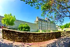 Bretagne, Vannes, dans la vieille ville 9 chteau de l'Hermine (paspog) Tags: france bretagne vannes colombages vieilleville