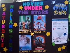 FREE outdoor movies in Surrey this August