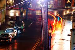 [wet streets] (world wide flan) Tags: longexposure streets wet rain nc nikon charlotte northcarolina rainy slowshutter shutter d60 rainystreets wetstreets 55200mm