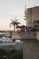 erobique at uebel und gefhrlich dach! (spanier) Tags: sunset party und live bunker dach carsten meyer gefhrlich feldstrasse erobique uebel uebelundgefhrlich flackbunker