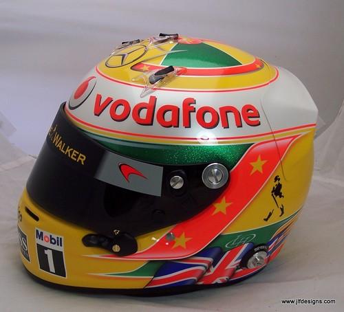 Lewis Hamilton Helmet, 1