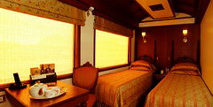 Maharajas' Express - Junior Suite (Train Chartering & Private Rail Cars) Tags: indiantrain privatetrain privaterailcar chartertrain traincharter trainchartering privatecarriage luxurytravel luxurytrain luxurytrainclub indianluxurytrain maharajasexpress