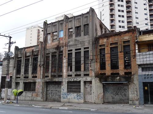 Cotonifício Paulista, de 1921. Av. Celso Garcia, Belém