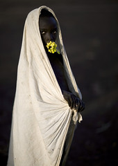Surma boy with flowers - Turgit Ethiopia (Eric Lafforgue) Tags: boy kid child artistic culture bodylanguage tribal ornament tribes bodypainting tradition tribe ethnic rite surma tribo adornment pigments ethnology tribu omo eastafrica thiopien suri etiopia ethiopie etiopa 3762  etiopija ethnie ethiopi  etiopien etipia  etiyopya  nomadicpeople      tulgit    peoplesoftheomovalley gpsok