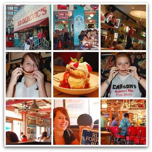 Chicago food collage
