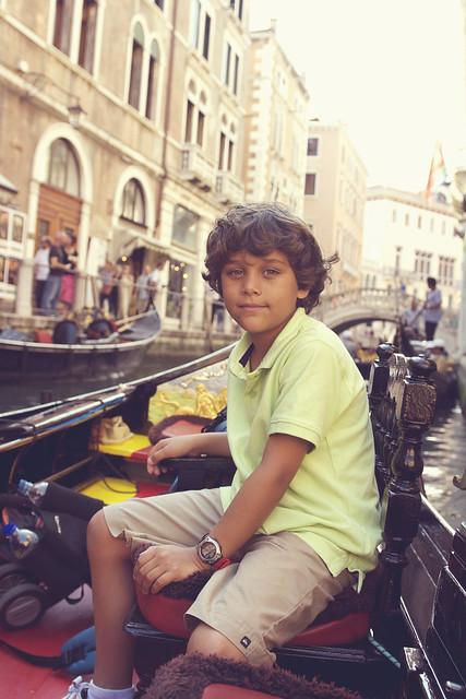 cory on gondola