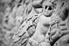 What Big Eyes You Had (belleshaw) Tags: blackandwhite baby eyes child bokeh stonework carving haunting sockets 50mmf18 thegettyvilla pacificpalisadesca