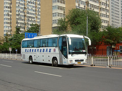 "[Coaches in Beijing] Yutong ZK6120R41E "" Lion's Star""  United Cresent #96659 Front-right at Baiyun Road (tonyluan1990) Tags: man coach beijing motorcoach yutong highdeck capitalmuseumchina tourismcoach lionsstar chartercoach luxurycoach  unitedcresent"