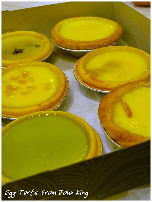 Durian Egg Tarts John King
