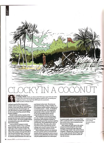 Clocky in a Coconut | BBC Focus Magazine