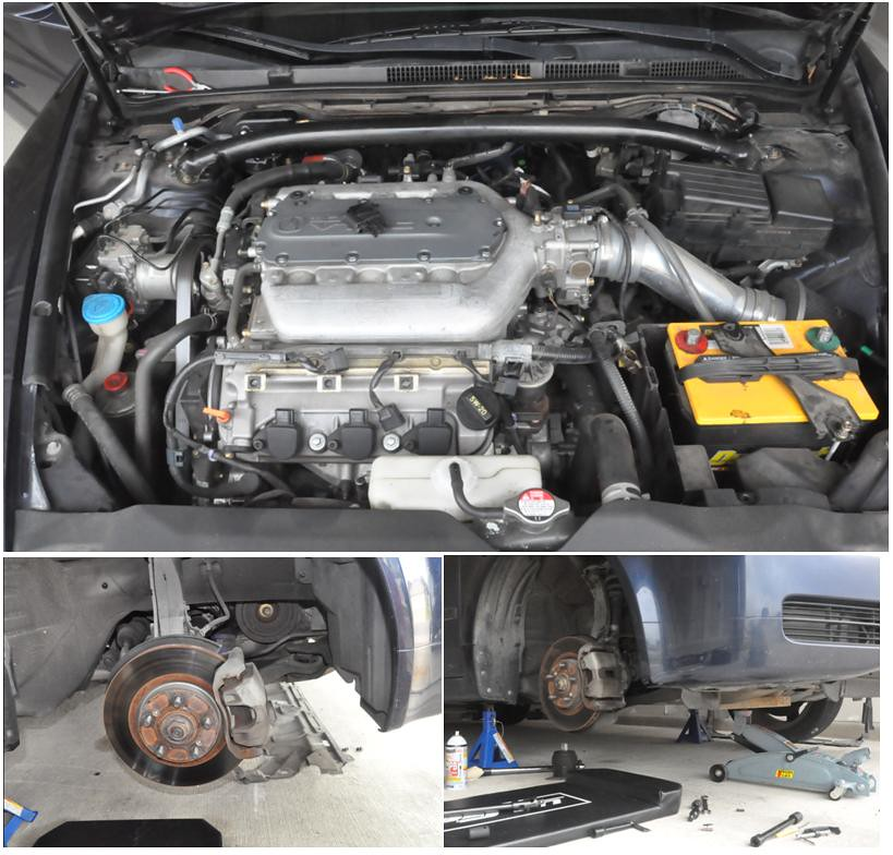 Acura Tl Battery: 105k Service: Timing Belt, Water Pump, Spark