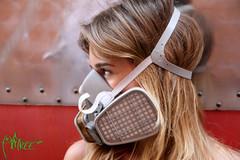 (Andrea Infantolino) Tags: girl train mask railway bikini writer write masked treno maschera pickmanns railwaymadness