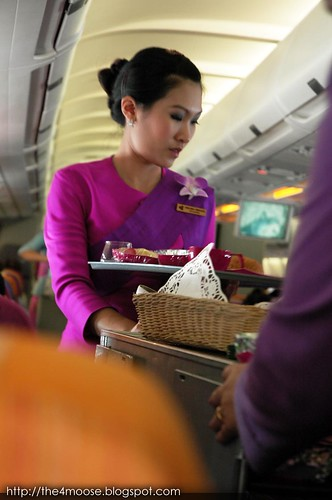 TG 0414 - Thai Airways Flight Attendent