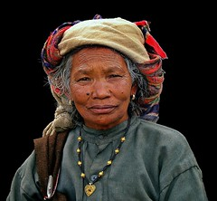 Treasures of life...a few wrinkled paths, a few questions unanswered and a great void of darkness !! (Lopamudra!) Tags: life old portrait india inspiration love lady village treasure native expression traditional highland himalaya promise struggle garhwal lopamudra bagini dunagiri artwithinportraits