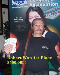 Wildwood Casino Cripple Creek, CO Pool Tournament - Robert  1st place $500 - 7-12-10 (Wildwood Casino) Tags: pool creek colorado casino tournament co cripple wildwood winners