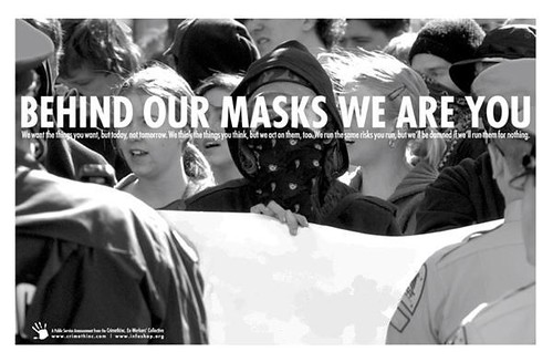 behind our masks...