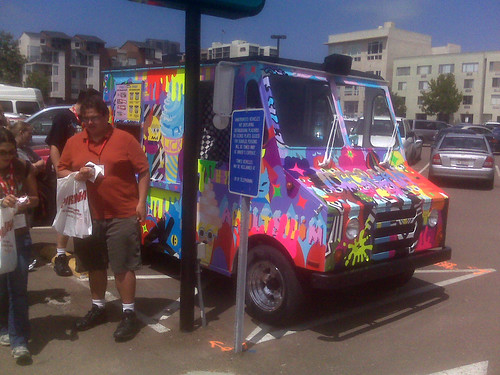 Ben Jones ice cream truck, Comic-Con 2010