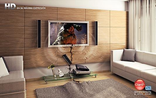 Claro TV, HD en su máxima expresión - Hulk