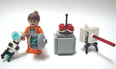 The cake is a lie. (Erik C.) Tags: cake is needed lego no bricks lie portal description the