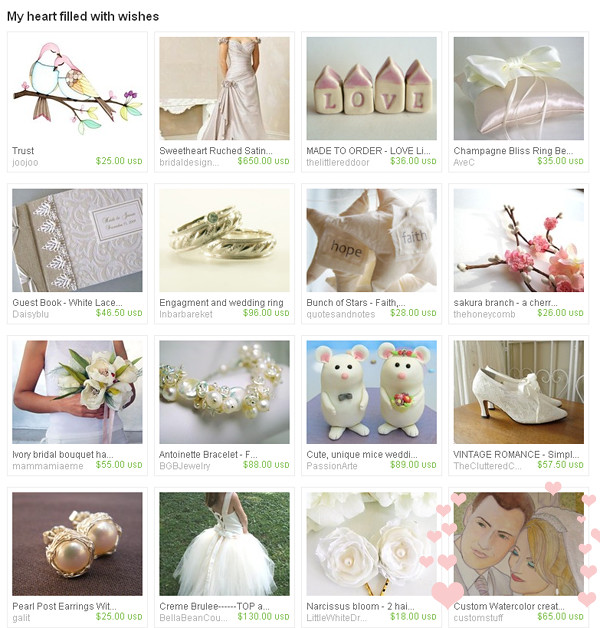 wedding treasury