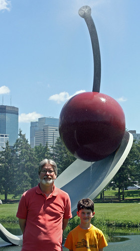 Chris and Ross with Spoonbridge and Cherry