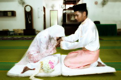 Salam (sniper44) Tags: wedding hijab masjid doa kahwin akadnikah