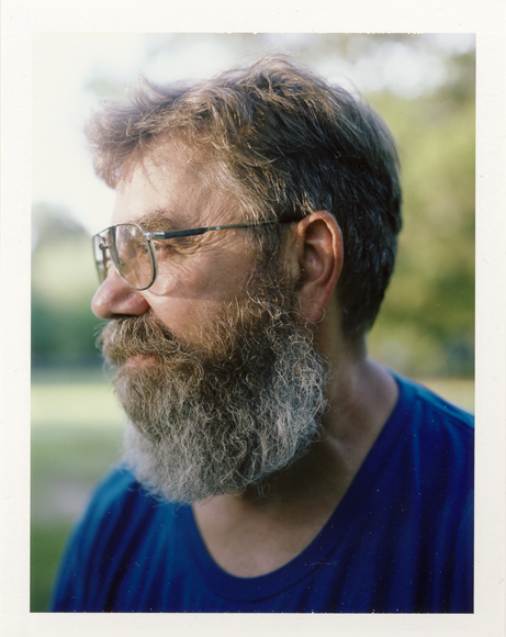 beard polaroid scan