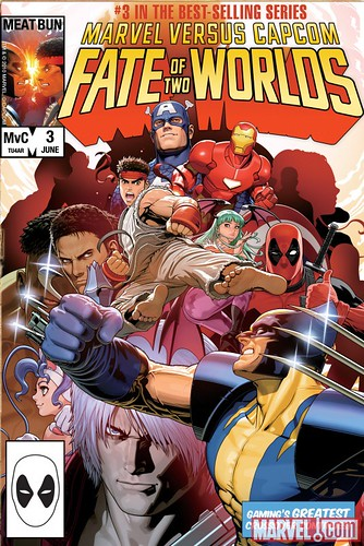 Marvel vs Capcom 3 Fate of Two Worlds Video Game Poster 2