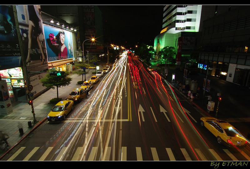 市政府與新天地 夜間散步輕鬆拍