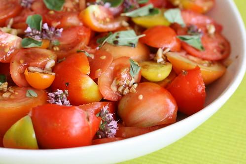 Tomato salad a la Jamie / Tomatisalat Jamie ainetel
