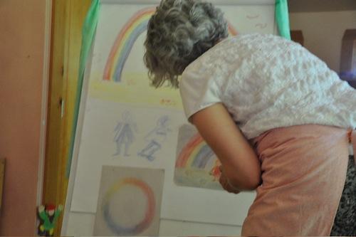 Sarah Baldwin Teaches Coloring