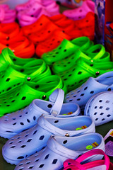 Crocs! (CT Young) Tags: blue color shoes montana missoula crocs missoulamt missoulamontana canonef50mm18 canonef50mmf18mkii downtownmissoula canonprimelens missouladowntown missoulasaturdaymarket downtownmissoulamt downtownmissoulamontana dowtownmissoulamt
