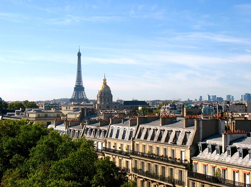 looking toward les Invalides & la Tour Eiffel (c2010 FK Benfield)