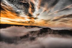 [フリー画像] 自然・風景, 山, 霧・霞, 雲, スペイン, 201012140700